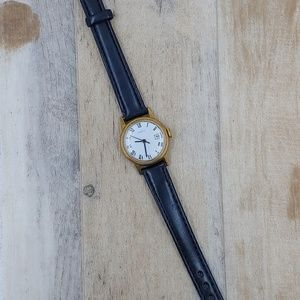 Vintage Timex ⌚ Women's Watch Leather Band